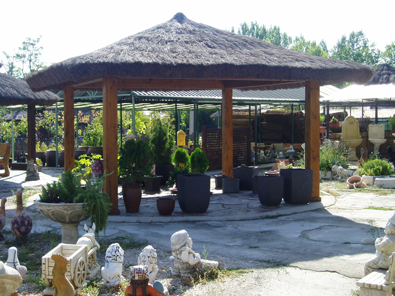 Brezo jard n for Cenadores de madera para jardin